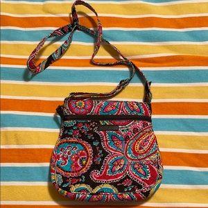 NWOT Vera Bradley Multicolor Paisley Crossbody Bag